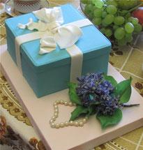 торт сирень подарок