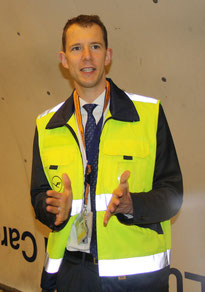 LH Cargo's Head of Communication Michael Goentgens