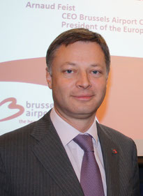 Arnaud Feist, President of ACI Europe and CEO of Brussels Airport  /  source: hs
