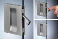 Tirador gancho aluminio para separadores