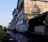 Tanneries abandonnées à Issoudun