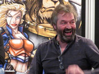 Ian Beattie (Meryn Trant in GOT)  at Dutch Comic Con