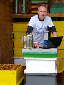 Gottfried Peball schaffte aktuelle Webseiten-Strukturen in der Bienenzucht, bis hin zum Landesverband in Kärnten
