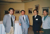 左から筆者・武内先生・小林治人氏・川嶋氏