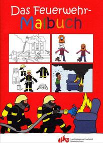 Feuerwehr Malbuch