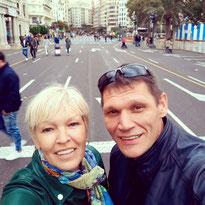 Сергей и Татьяна - гиды в Барселоне