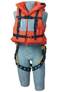 Off-Shore Lifejacket for use with Harness