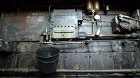 Wartungsarbeit Diesellok