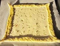 tarte fine croustillante aux fraises