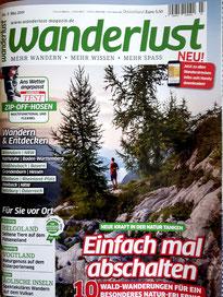 Das Cover des Magazins Wanderlust.