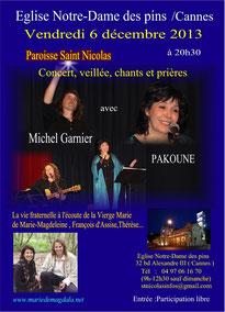 Cannes 6 décembre 2013