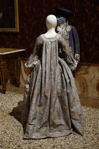 Rococo dress, Robe volante or Robe à la Francaise, Museo di Palazzo Mocenigo, Venice. picture taken by Nina Möller