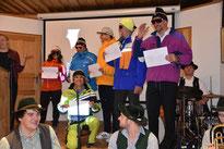 50 Jahrfeier Skiteam SV DJK Heufeld. Präsentation der Skikleidung.