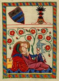 Codex Manesse: Folio 249v