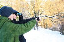 Aufruf zur winterlichen Vogelbeobachtung - Die Stunde der Wintervögel 2015. Foto: A. Wolff/NABU