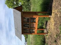Das fertige Insektenhotel. - Foto: Dr. Nick Büscher