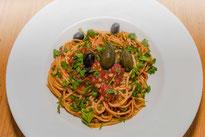 Spaghetti alla Puttanesca-Rezept