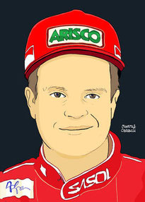 Rubens Barrichello by Muneta & Cerracín