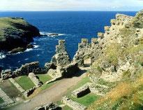 Ruines de Tintagel