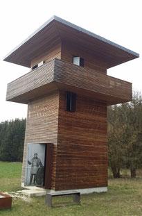Limes-Wachtturm bei Hienheim