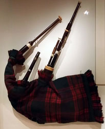 Dudelsack, National Museum of Scotland