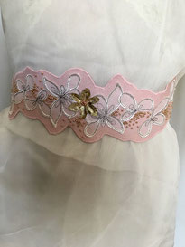 Ceinture de la Robe de Mariée - Créatrice Reine de Coeur - Crédit Photo