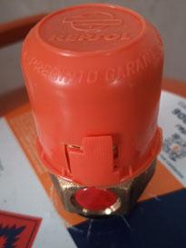 Protecciones de la válvula de la bombona. AprendEmergencias