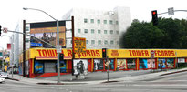 Tower Records am Sunset Strip kurz vor der Schließung 2006 (Foto: Mike Dillon)