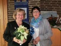 Doris Lorenz (OV St. Michel )und Irmgard Fleig als gemeinsame Ausrichter der  Feier. Foto: OV St. Michel