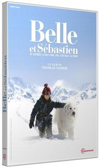 DVD Belle et Sébastien, Mehdi el Glaoui, Cécile Aubry, Félix Bossuet, Nicolas Vanier
