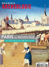 Dossiers d'Archéologie n° 371 - Septembre - octobre 2015 - Temple de Paris