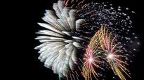 Feuerwerk zum Japantag 2019 in Düsseldorf