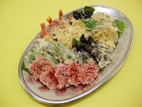 天ぷら盛り合わせ 3,240円