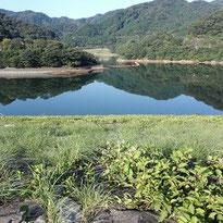 松川湖 湖面