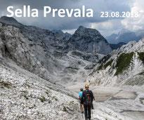 Sella Prevala Scharte, Kanin, Julische Alpen