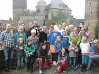 Teilnehmer Familienwochenende mit Super-Kolping