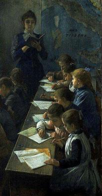 """Demetrio Cosola, """"Il dettato"""" (1891)"""