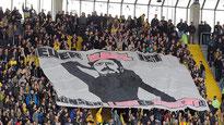 Foto: Fußballfans gegen Homophobie