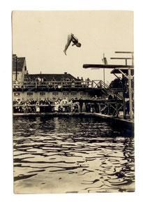 Köllner springt in Graz. Bild ©: Dr. A. Lind