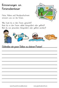 Nach den Ferien (Abenteuer Sprache 6.1.) - fraumohrsrasselbandes ...