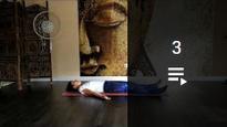Alexa bei der  Yogastunde