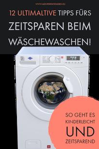 Wäsche waschen mit Familie, Wäsche waschen mit Kindern