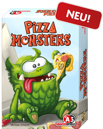 Pizza Monsters - Cover