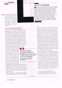 lmc france mina daban aude charbonnier fx mahon yolande arnault rose magazine leucemie myeloide chronique