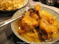 Cuisses de poulet aux épices douces et chou chinois
