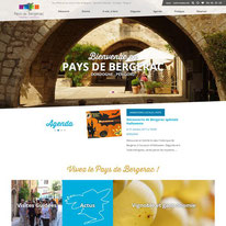 Le site web de destination