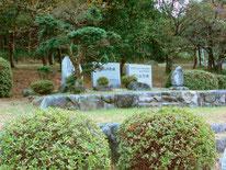まず雲谷の頭首工にある数々の石碑の説明を受けました