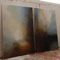 Arbeiten der Malerin Anja Witt