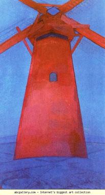『赤い水車』(1911年)