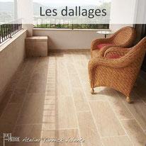 Les dallages d'intérieurs en pierre - Yannick Valente - Tout en pierre (Var 83)